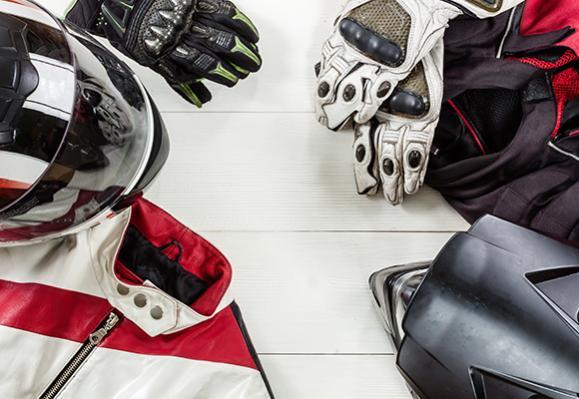casque gant moto